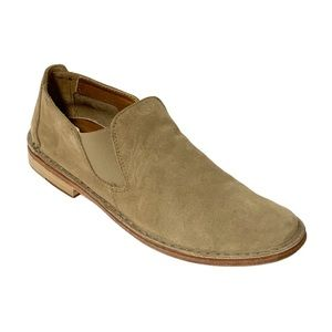 Vince - Suede Loafers in Tan